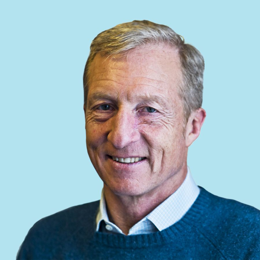 Tom Steyer Net Worth $1.6 billion
