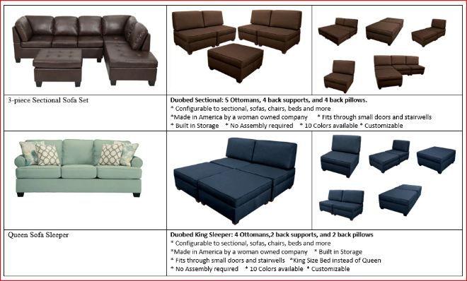 Retail Storage Ottoman Furniture S