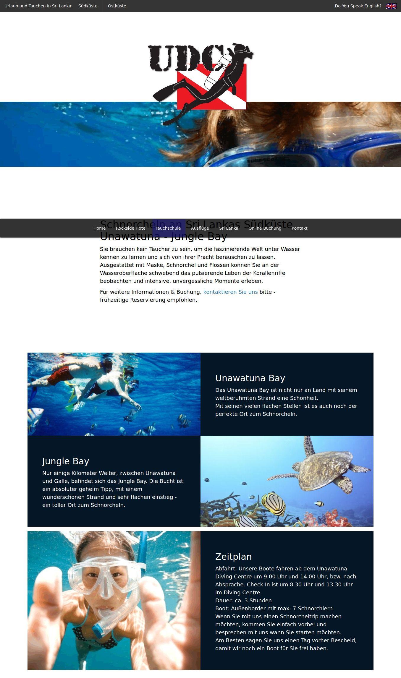 Unawatuna Schnorcheln Im Korallenriff By Unawatuna Diving Infogram